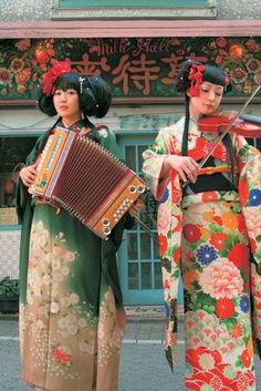 Musical girls(Kokusyoku sumire)