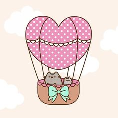 """17.4k Likes, 161 Comments - Pusheen (@pusheen) on Instagram: """"Happy Valentine's Day! """""""