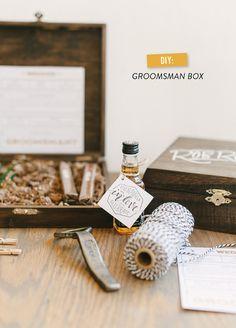 DIY Groomsman Box