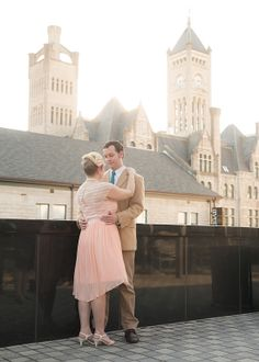 Nashville wedding photography. The Frist. Union Station.