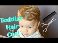 (34) How To Cut Toddler Boy Hair - YouTube