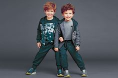 Effortlessly Stylish - D&G Kid Winter 2014/2015 Collection for BOYS