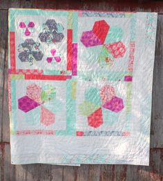 Canyon Jewels Quilt using Canyon by Kate Spain fabric. Free instructions on the Moda Bake Shop Blog.