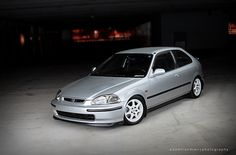 Disney's Honda Civic SiR Ek by A.Frandsen, via Flickr