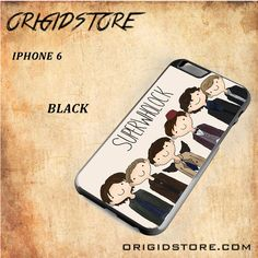 Superwholock Black White Snap On 3D For Iphone 6 Case
