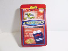 Password Game 5th Edition Quick Picks Travel Word Association Endless Games 2008 #EndlessGames