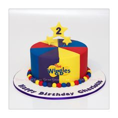 The Wiggles cake, Gateaux Girl Twin Birthday Parties, Birthday Themes For Boys, Baby Birthday, Birthday Ideas, Wiggles Birthday, Wiggles Party, Wiggles Cake, The Wiggles, Birhday Cake
