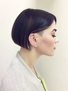 Chin-Length Bob, Subtle Undercut