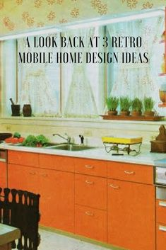 Easy Home Interior Design Tips That Anyone Can Implement – DecorativeAllure Mobile Home Kitchens, Mobile Home Living, Contemporary Interior Design, Modern Kitchen Design, Modern Kitchens, Kitchen Designs, Remodeling Mobile Homes, Home Remodeling, Retro Interior Design