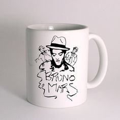 Bruno Mars for Mug Design