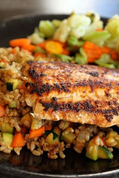 A Simple Salmon Glaze From the Pantry Recipe Ideas by NEW Weight Watchers PointsPlus 2wwpp