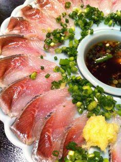 Sashimi sardine