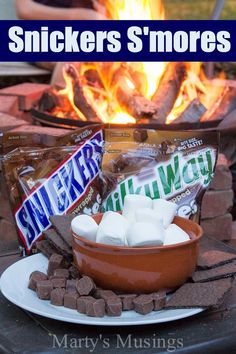 Snickers S'mores - Marty's Musings