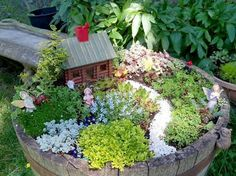 Inspiration Gallery Looking for ideas on how to make your perfect miniature garden? Creating a magical miniature container garden will enchant you and everyone around you! In this make-believe mini…
