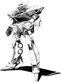 The Dochadi Dh-3b is an updated version of the Dochadi used by Metatron. This Man-Machine appears in the novel Gaia Gear.