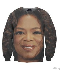 This Oprah's Face Sweatshirt Is My Everything