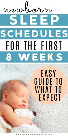 Newborn baby routines for the first 8 weeks to show you what to expect from your new baby! Tips for feeding, sleep and getting through the exhausting early weeks. #newbornbaby #babytips Newborn Baby Tips, Newborn Nursery, Newborn Development, Sleep Training Methods, Baby Sleep Schedule, Help Baby Sleep, Baby Routines, Baby Hacks, Toddler Activities
