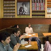 Torrisi Italian Specialties   Critics' Pick  250 Mulberry St., New York, NY 10012   nr. Prince St.