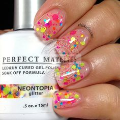 LeChat Pop of Vogue - Neontopia swatch by Chickettes.com