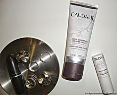 In Mary's Makeup: Caudalie Hand & Nail Cream and Lip Conditioner | Review & Giveaway (Closed)