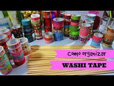 Cómo organizar washi tapes - Washitapemania