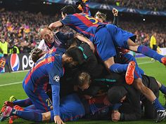 Từ cú lội ngược dòng lịch sử của Barca: Mang ánh sáng từ Paris tới Camp Nou
