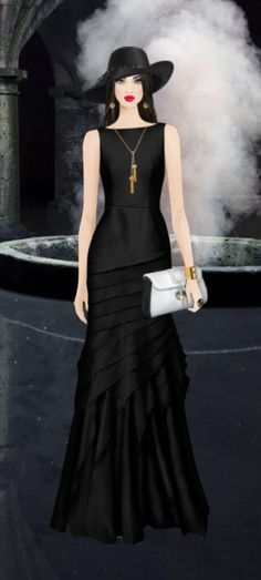 Covet Fashion Game-Challenge-Wicked Witch