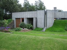 By Högna Sigurðardóttir the first woman to practice architecture in Iceland. Built 1965