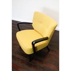Love the yellow colour! Retro 50s cocktail chair | Johnny Moustache | Vintage And Contemporary Furniture  Homewares