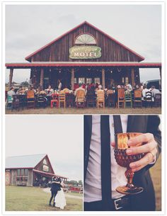 Miss James' wedding is my dream wedding for sure. I'm totally obsessed with BleuBird.