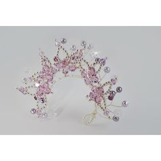 Bun Wrap Tiara for Ballet, Classical Dance or Figure Skating -... ($62) ❤ liked on Polyvore