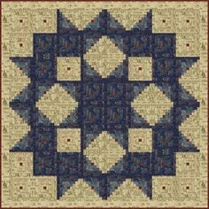 log cabin blocks to make a carpenter block.......Edyta Siter quilt