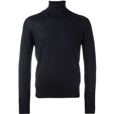 Cruciani turtleneck jumper (£340) ❤ liked on Polyvore featuring men's fashion, men's clothing, men's sweaters, men's polo neck sweaters and mens turtleneck sweater