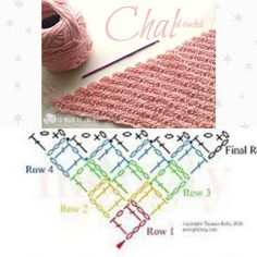 Crochet Stitches Patterns, Stitch Patterns, Crochet Poncho, Beautiful Crochet, Baby Blankets, Chocolates, Crochet Projects, Scarves, Corner