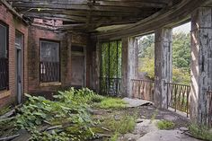 Decimated State Hospital 2011. by porc3laind0ll, via Flickr
