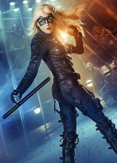 Katie Cassidy as The Black Canary! New promo!! #Arrow