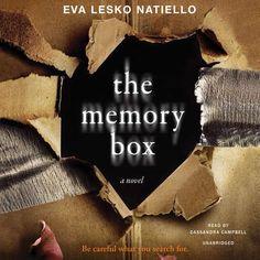 The Memory Box: An unputdownable psychological thriller by Eva Lesko Natiello 0692239006 9780692239001 Books And Tea, I Love Books, Good Books, Books To Read, My Books, Book Club Books, Free Books, I Love Reading, Reading Lists