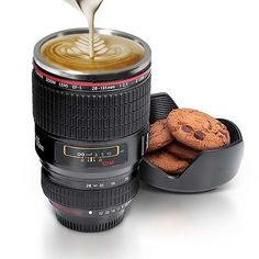 #Great gift stainless steel camera lens mug #coffee cup multi #purpose holder ,  View more on the LINK: 	http://www.zeppy.io/product/gb/2/151917180330/