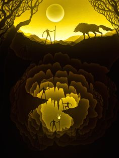Fairytales In Paper Light Boxes