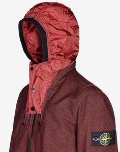 44544 SAIA DOPPIA FACCIA Mid Length Jacket Stone Island Men -Stone Island Online Store