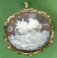 Diana. Antique Cameos: old victorian, shell, coral and hardstone cameos ...