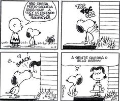 quebrando o gelo. - Snoopy e Charlie Brown Snoopy Love, Charlie Brown Snoopy, Snoopy Comics, Bd Comics, Snoopy Quotes, Peanuts Snoopy, Calvin And Hobbes, Cute Quotes, Comic Strips