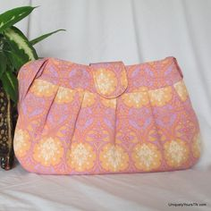 Sherry Bag in Pink & Lilac from Uniquely Yours TN for $48.00 on Square Market