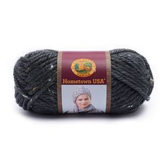 Lion Brand Hometown USA Prints Yarn in San Fran Tweed