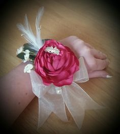 Prom corsages available at Pozy Posy