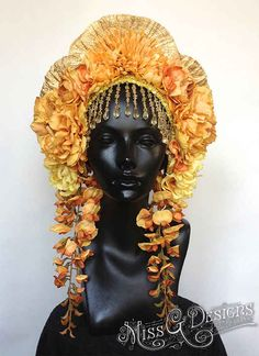 AND THIS ONE . | This Artist Makes The Coolest Headpieces Ever