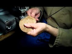 Signes: Starting a Braided Straw Hat - YouTube