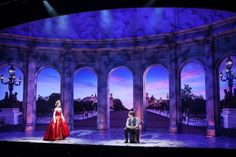 The set design of Anastasia The Musical by Alexander Dodge.