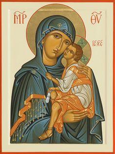 Madre di Dio; 30 x 40 cm, Collezione Privata, Lecce, Italia, 2004