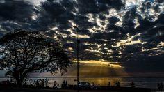 Por do sol no Guaiba - Porto Alegre